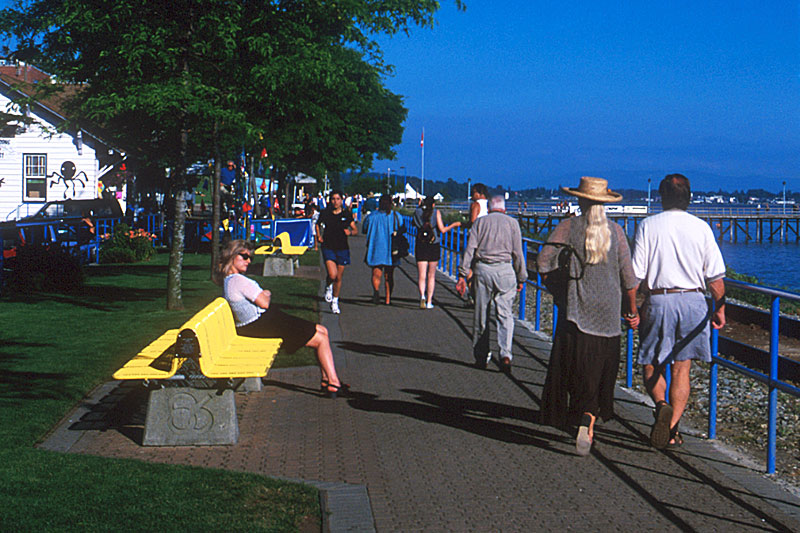 White Rock, Semiahmoo Peninsula, Greater Vancouver, British Columbia, Canada