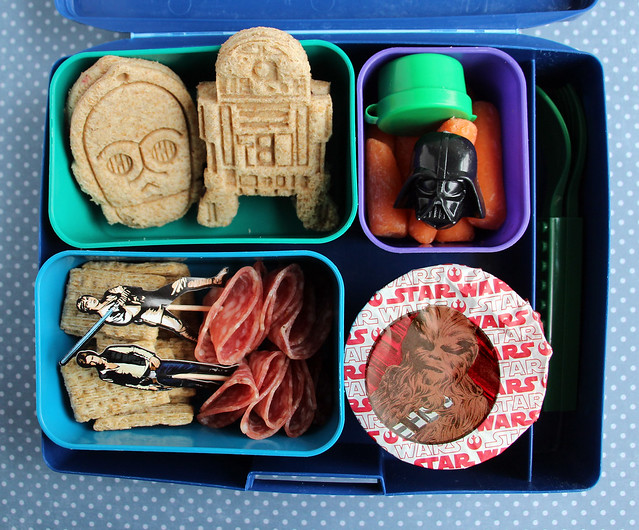 Fourth Grader Star Wars Bento #862