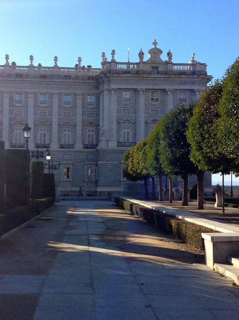 Palacio Real, Plaza de Oriente, Madrid, España