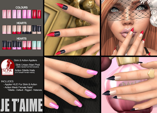 [NEW] Je T'aime Nails