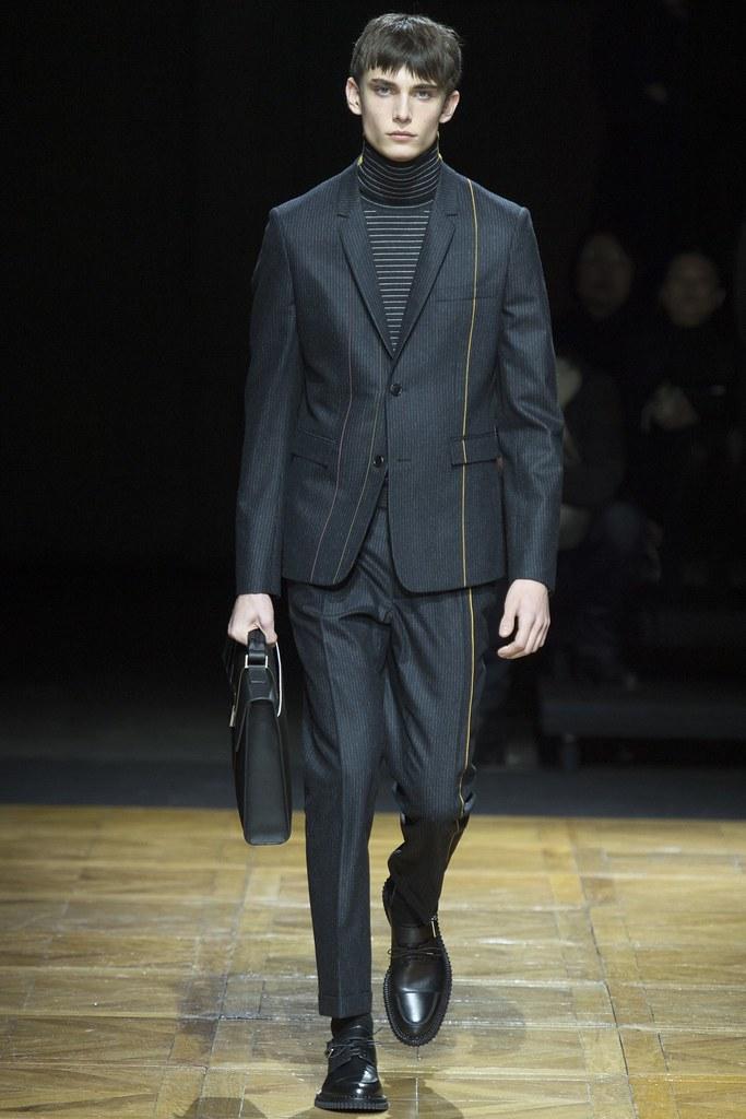 FW14 Paris Dior Homme035_Kyle Mobus(VOGUE)