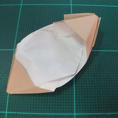 การพับกระดาษเป็นรูปเรือเรือสำปั้น (Origami Sampan) 013
