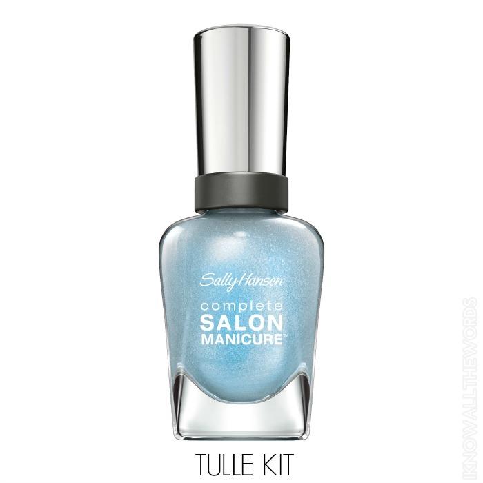 Sally Hansen Complete Salon Manicure Pastels on Point - Tulle Kit