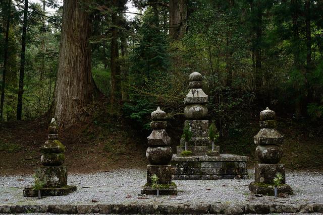 Oku-no-in Cemetery, Toyotomi Clan