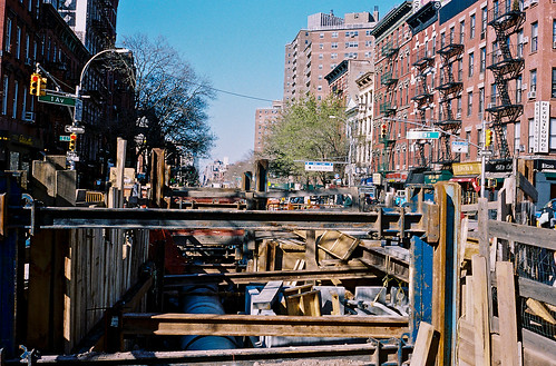 Construction, East Village, NYC