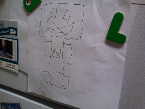 Kai's Creeper Drawing