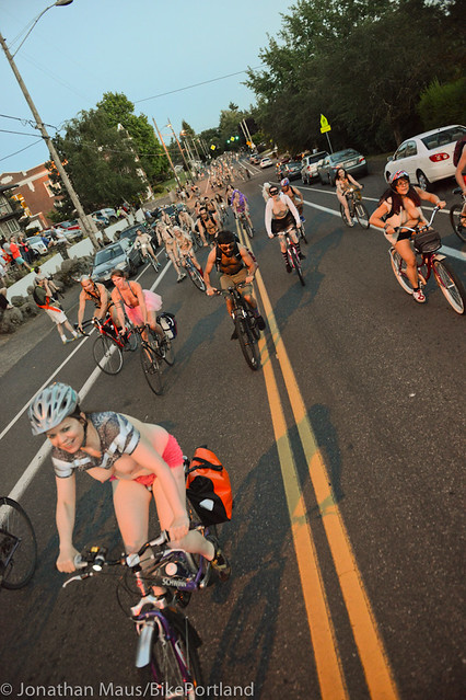 2014 World Naked Bike Ride -58