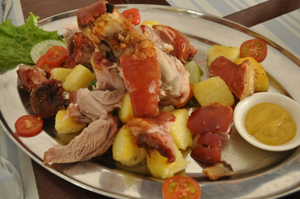 German-Style Crispy Pork Hock