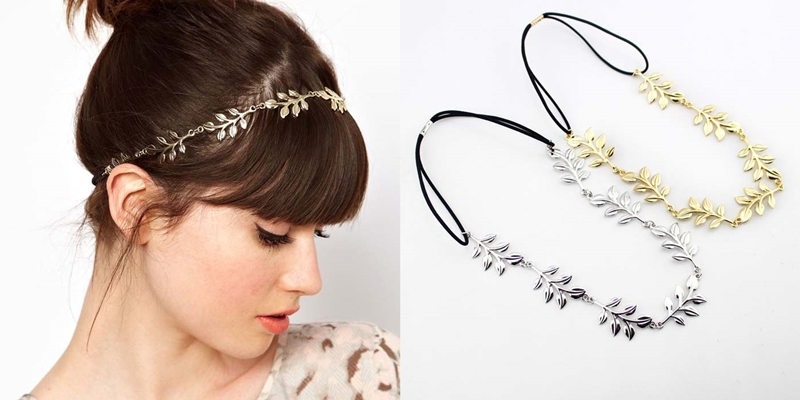 A2 Leafy headband