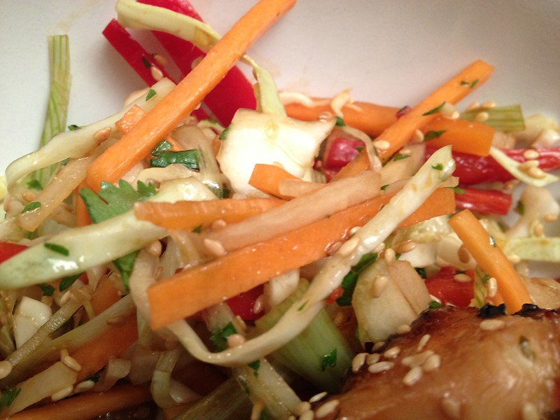 Asian Slaw : Close Up