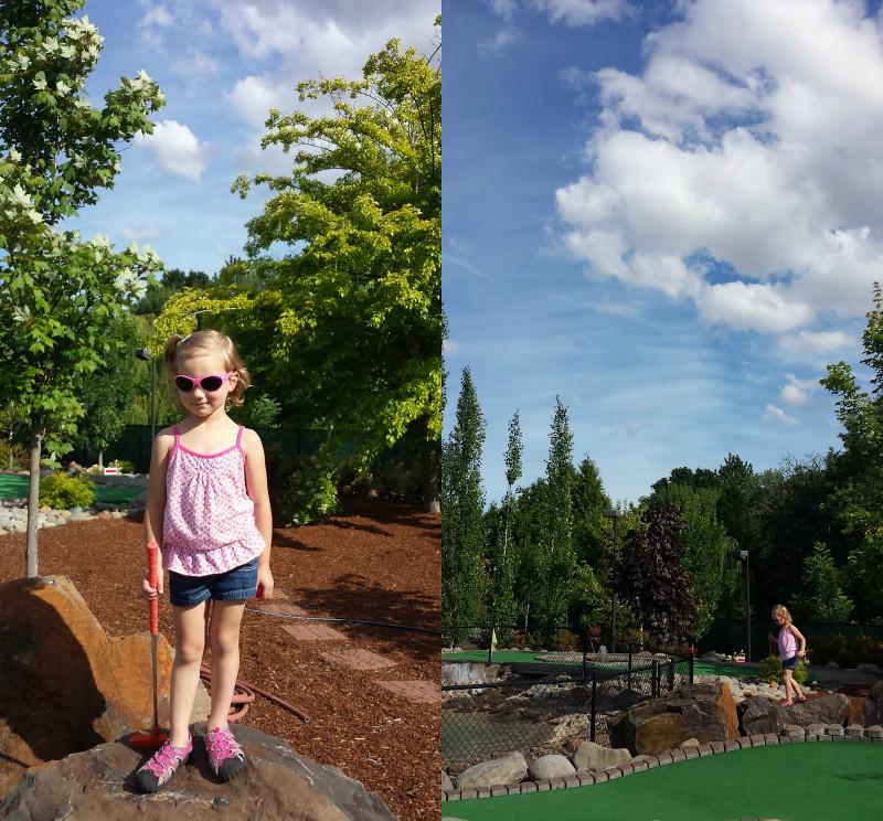 Lola Golfing
