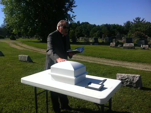 John Burns funeral