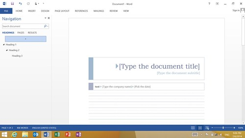 ใช้งาน Microsoft Office 2013 เต็มรูปแบบ