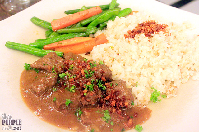 Beef Salpicao Lunch Special (P265)