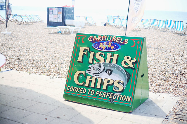 Fish and Chips Brighton Beach