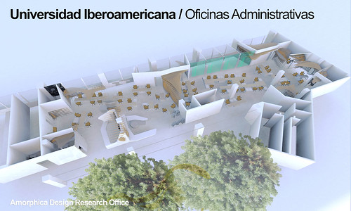 Amorphica Design Research Office - Universidad Iberoamericana - Administrative Offices