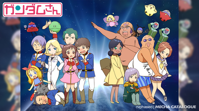 """Gundam-san"" Anime Confirmed"