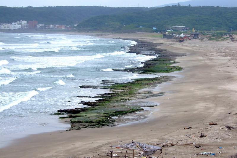 老梅海岸_特殊景觀_石槽&綠色礁岩海岸