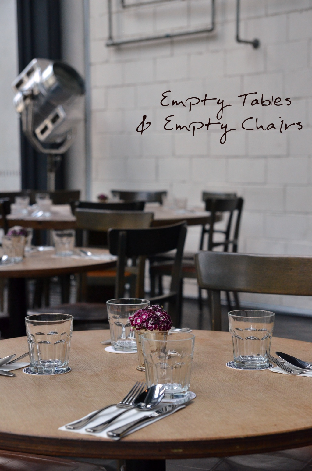 Empty Tables & Chairs