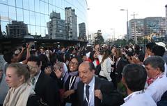 10/20/2016 - 19:54 - Quito, 20 oct (Andes).- Con la presencia del Presidente de la República Rafael Correa y Jean Clos, Secretario de HábitatIII, se llevó a cabo la clausura de la Tercera conferencia de Hábitat que se realizó en Quito-Ecuador. ANDES/Micaela Ayala V.