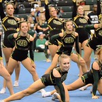 RBHS-Varsity Cheer-Battle at the Bluff-10/16/17
