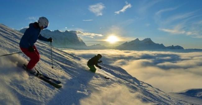 10 nejtěžších sjezdovek Švýcarska