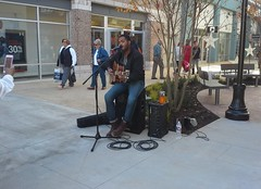 Musicians at Tanger Southaven Grand Opening day