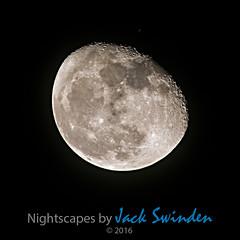 Moon on 19 October 2016