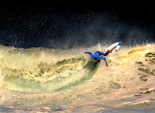 Kennedy im the foam
