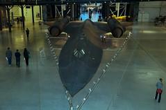 Lockheed SR-71A Blackbird in Udvar-Hazy Center