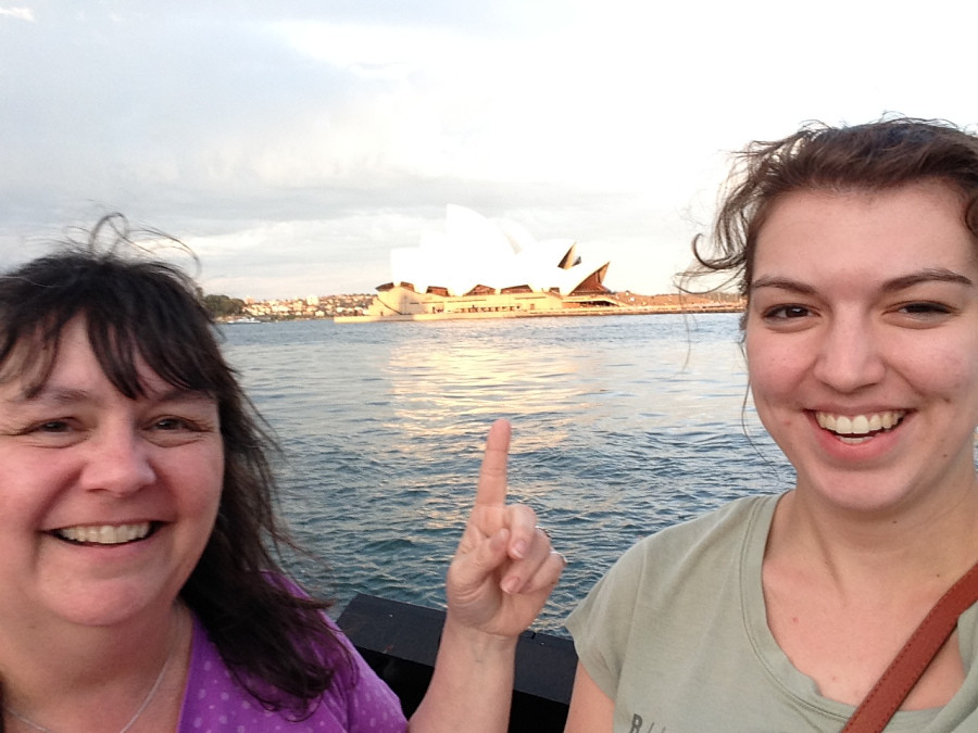 Jugan, Ashleigh; Sydney, Australia - Last Week of Classes - Mama Visit