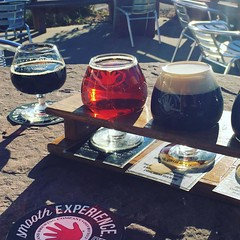 Stop during hike at @lefthandbrewing #beer #colorado #brewery