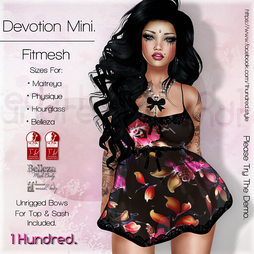 1 Hundred. Devotion Mini - SecondLifeHub.com