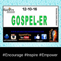 We are preparing for next weeks #SparkfireMinistries #openmic and we will be on the look out for #gospelers yes!!!!                                 It will be your duty to spread the good news on the spot!!!!! #tweet #instagram #periscope #facebooklive th