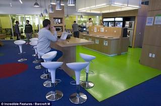 探访谷歌总部 设施齐全服务人性化