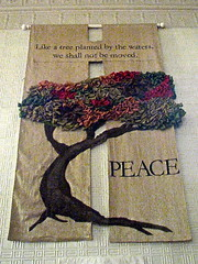 Brackett Memorial Church (1861) – peace banner