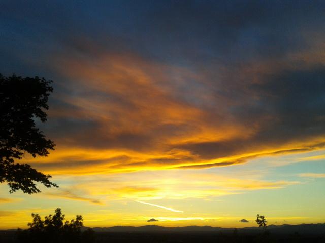 2013-05-22 se pone el sol en la Dehesa