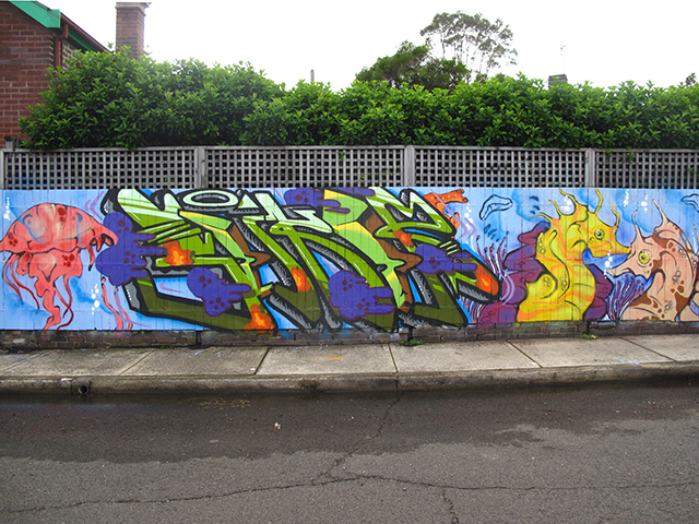 Slikor and Wei 2 Mural, Newtown