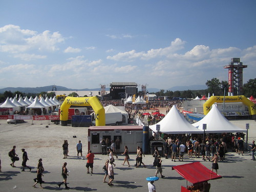 Seerock-Festival Gelände