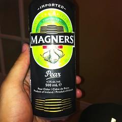 Magners Pear cider. Delicious! #beer #beerporn #notquitebeer #ciderporn
