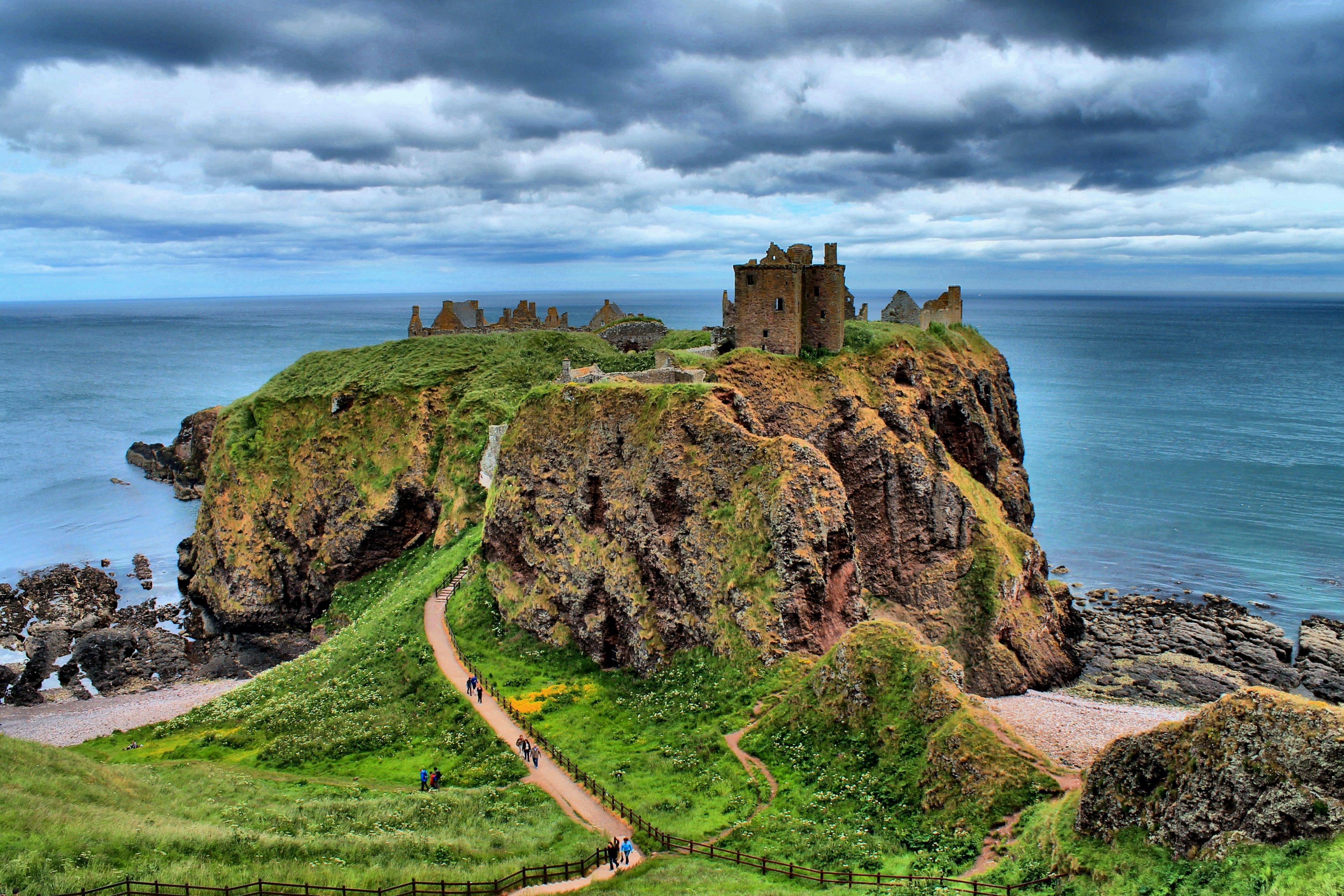 Scottish Landscape | Dunnotar Castle In Stonehaven Aberdeenu2026 | By Laurine B. | Flickr - Photo ...