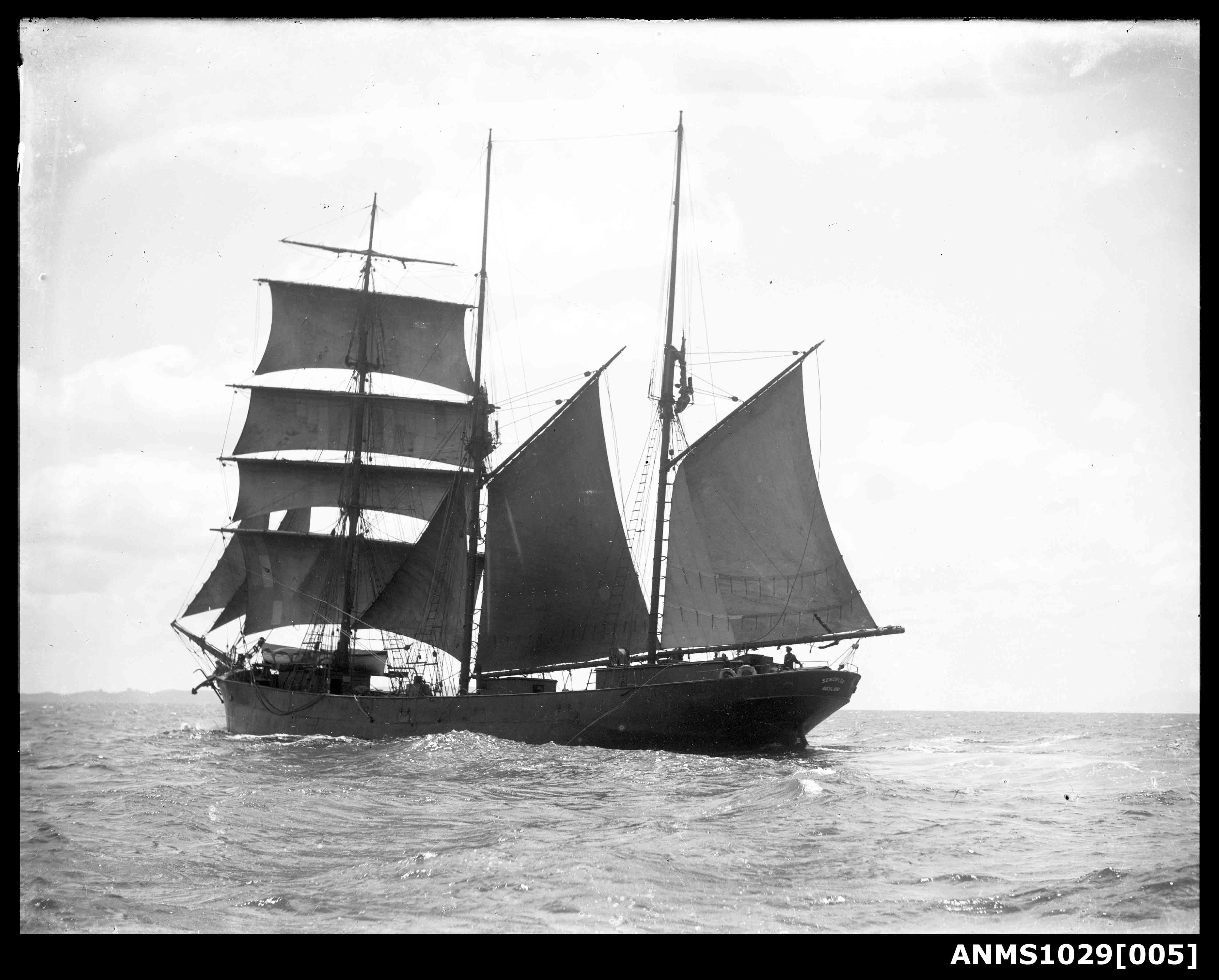 New Zealand ship SENORITA underway