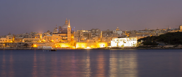 Valletta at Night - Malta
