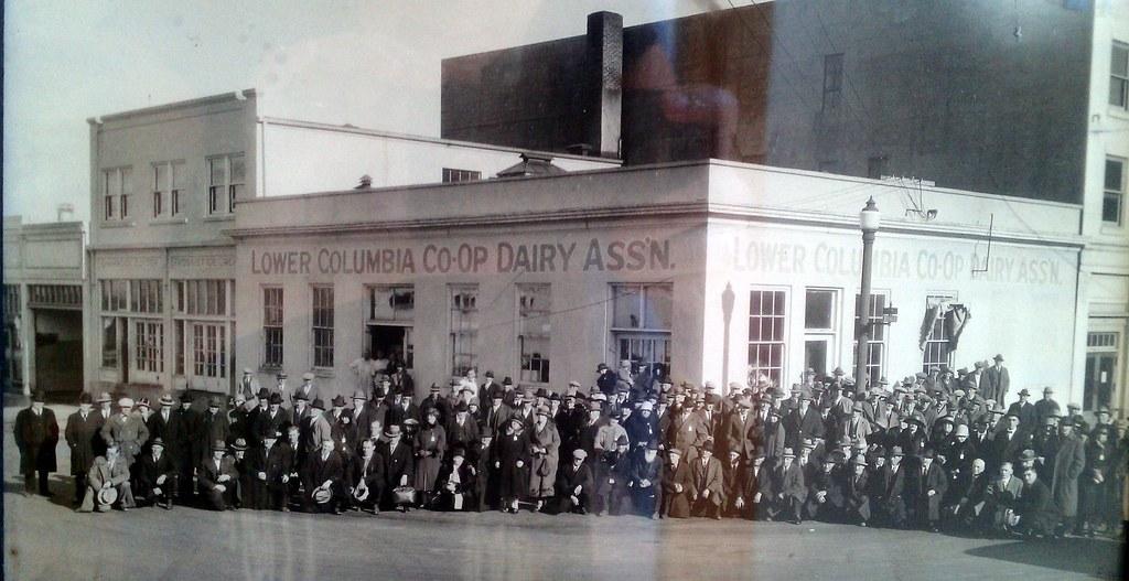 Lopez Island Dairy Farmers 1927
