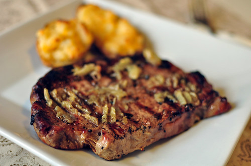 Roasted Garlic RIbeyes 1