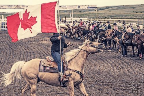 Gooseberry Lake : 4-H Rodeo 2013 : O Canada
