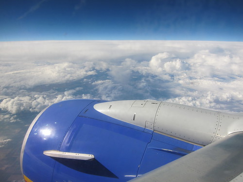 southwest airlines, clouds, sky, airplane engine IMG_5612