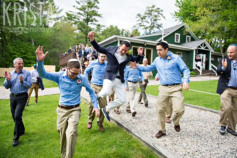 Wedding at Camp Cody in Freedom, New Hampshire