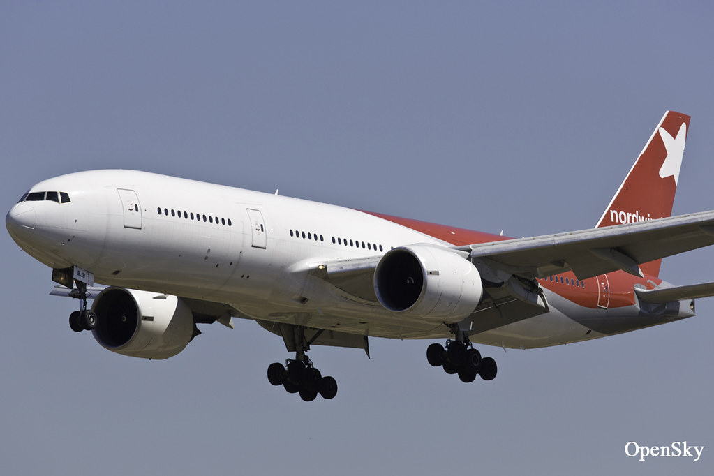 Nordwind Airlines Boeing 777-21B(ER) VP-BJB