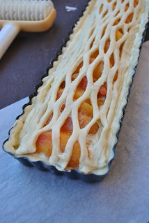 Peach and Amaretti PIe